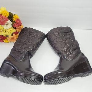 COACH WOMEN BOOTS A7368 SZ.8.5B